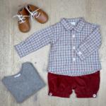 panty + chemise + pull