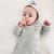 burnous-perle-moucheté-bébé