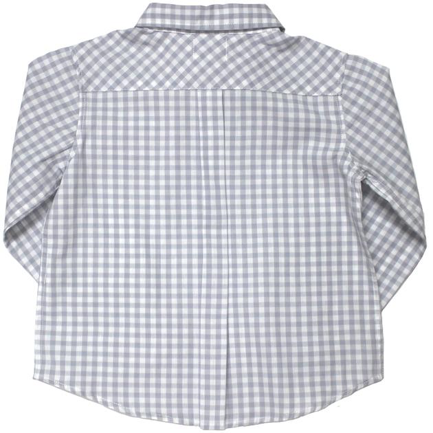 Chemise-Carreaux gris-2
