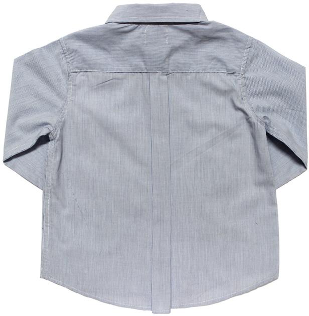 chemise rayee ciel dos