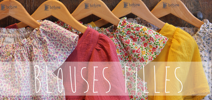 Bandeau wizishop blouses filles bobine 2017