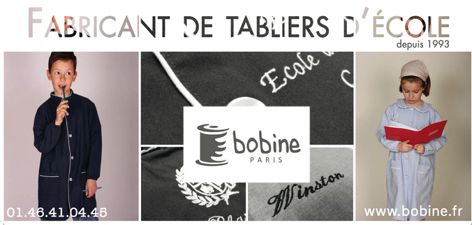 Fabricant tablier