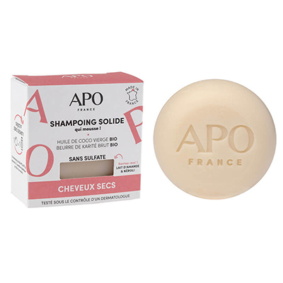 Shampoing solide - Cheveux secs - 75g