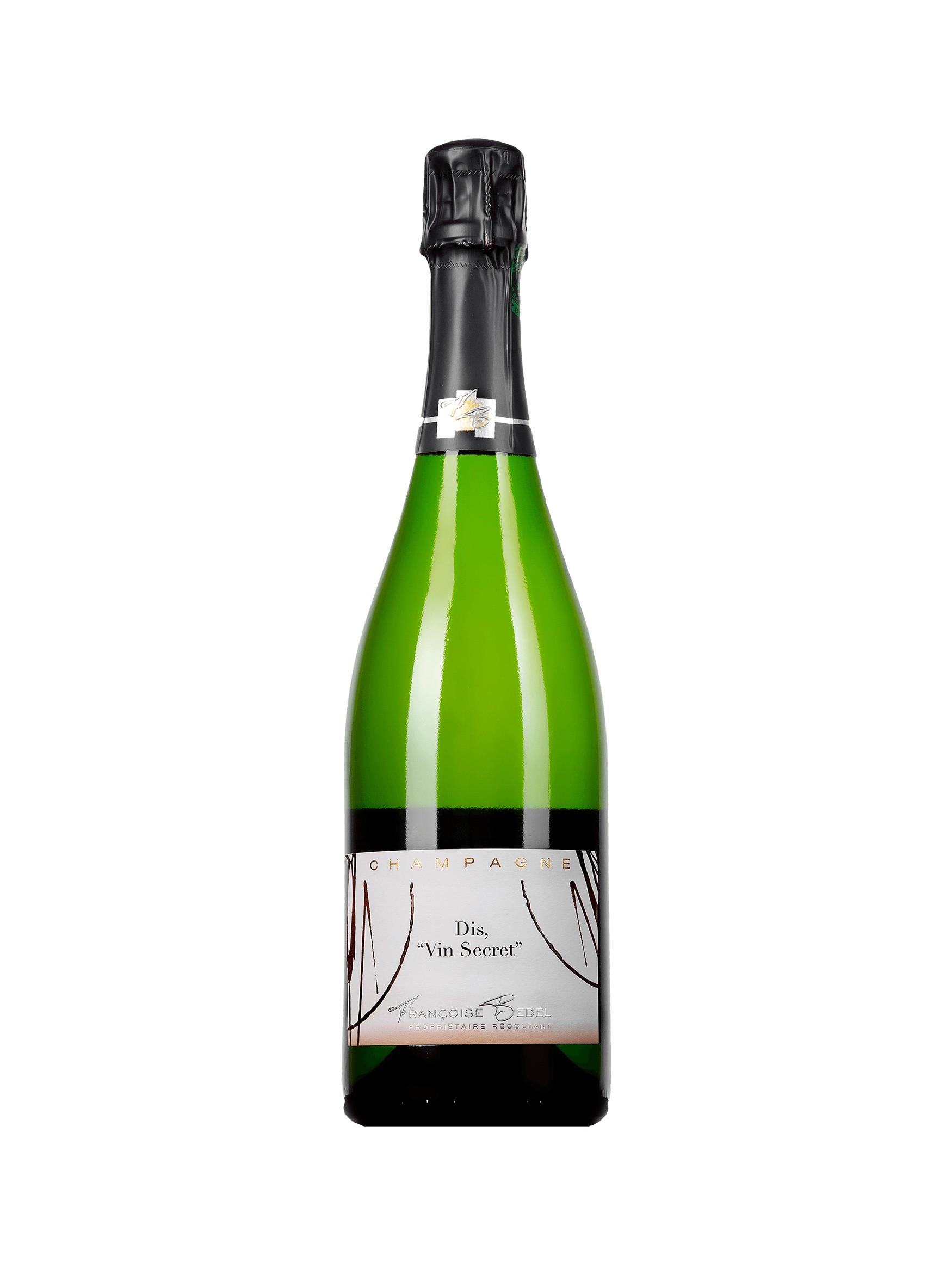 Champagne Françoise Bedel - dis  Vins Secret  - Vendange 2010