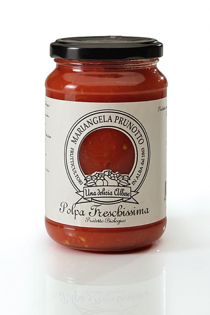 Sauce tomate bio pour pizza