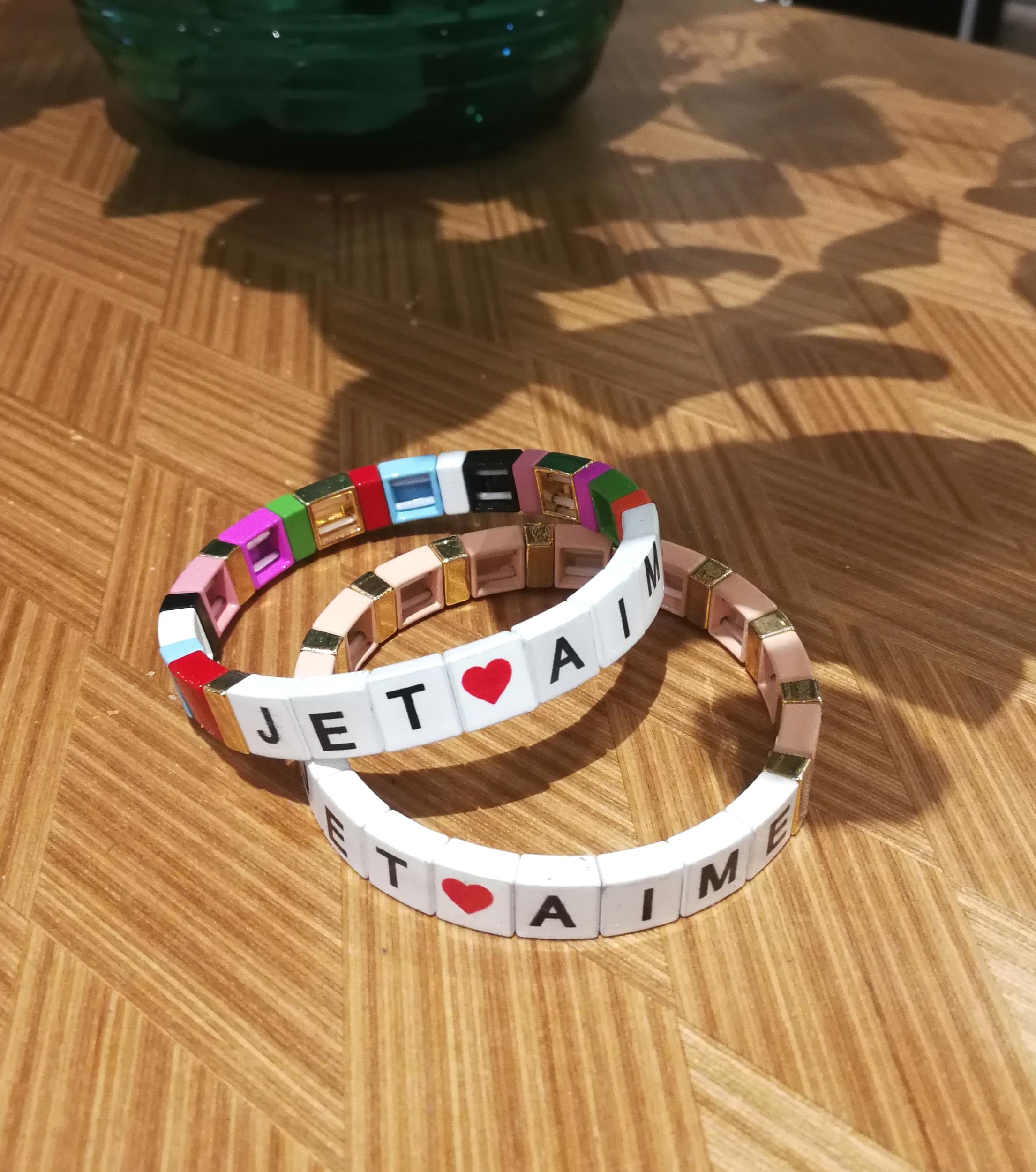 Bracelet JE T\'AIME