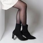 bottines-chaussettes-en-maille-noire
