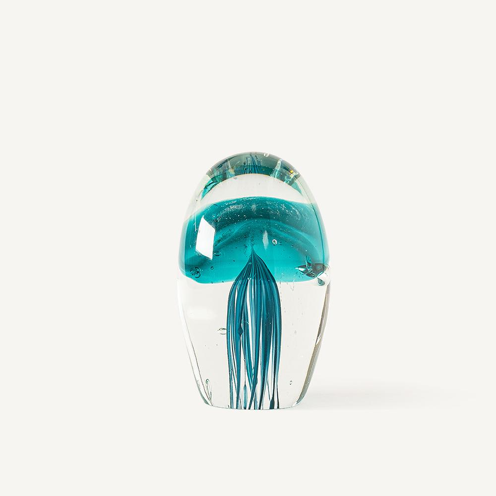 Méduse sulfure bleu canard (S)