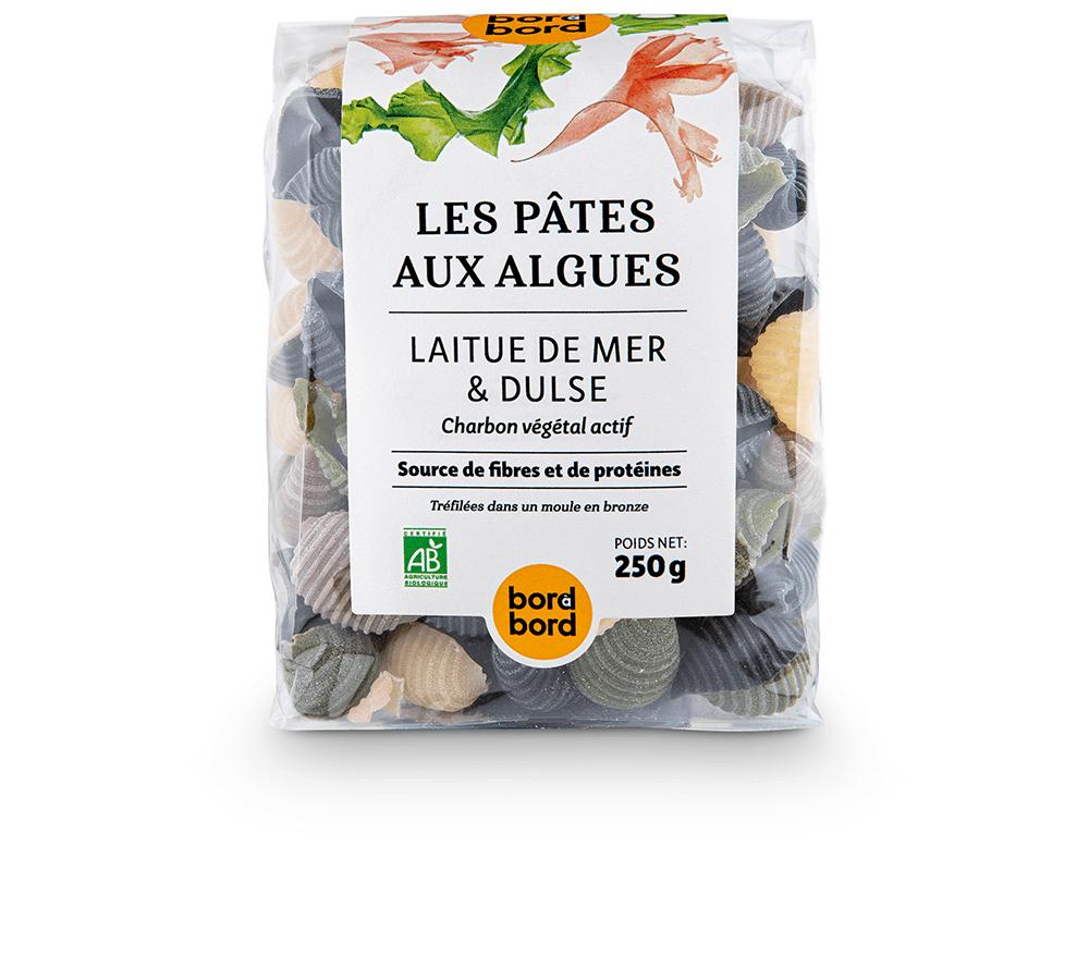 Les pâtes, mix iodé aux deux algues