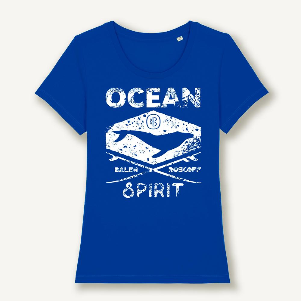 T-shirt Ocean spirit bleu