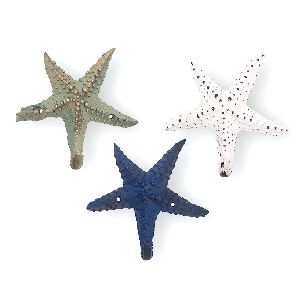Patère étoile de mer