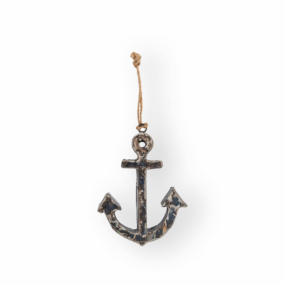 Pendant décoratif ancre marine