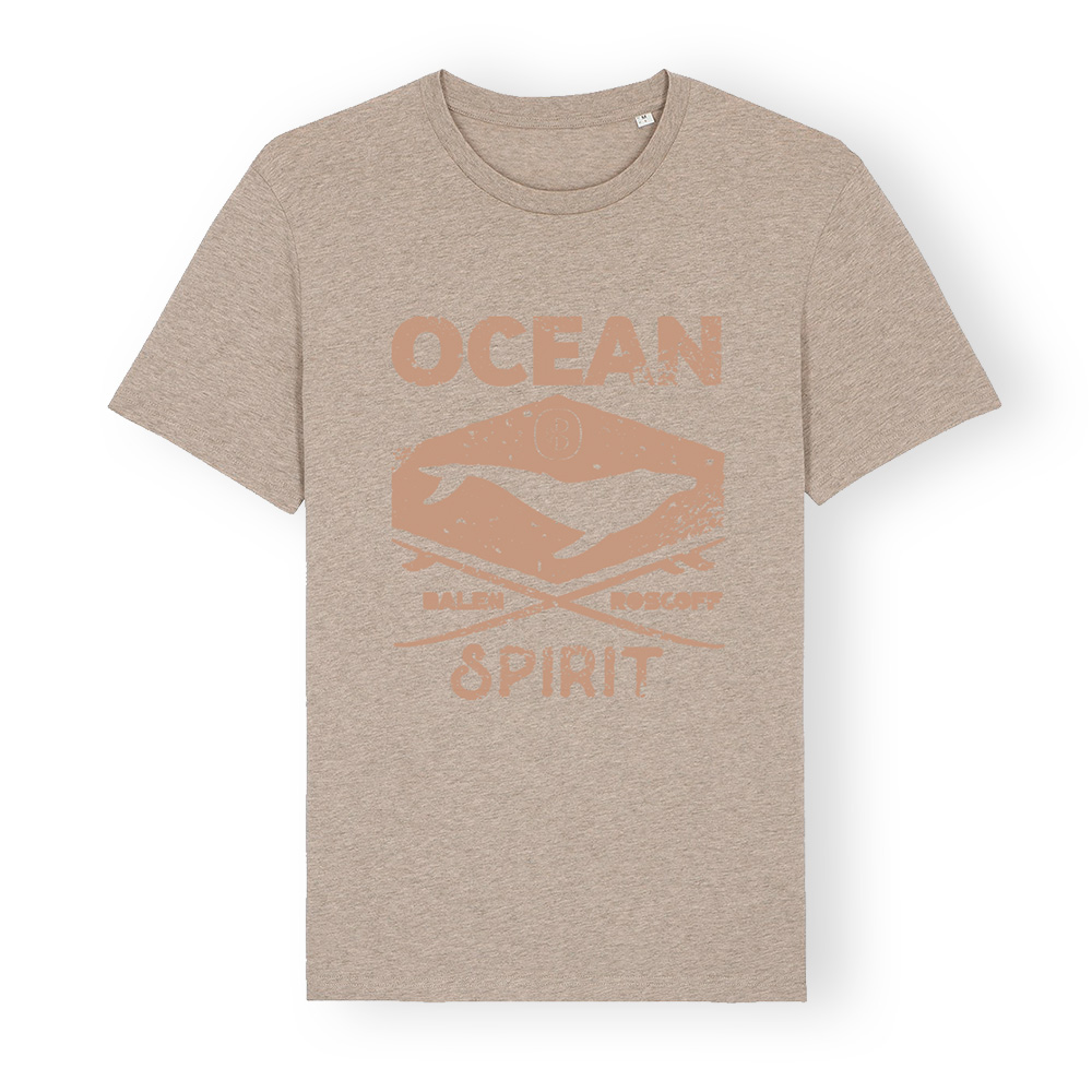 T-shirt UNISEXE Ocean spirit sable