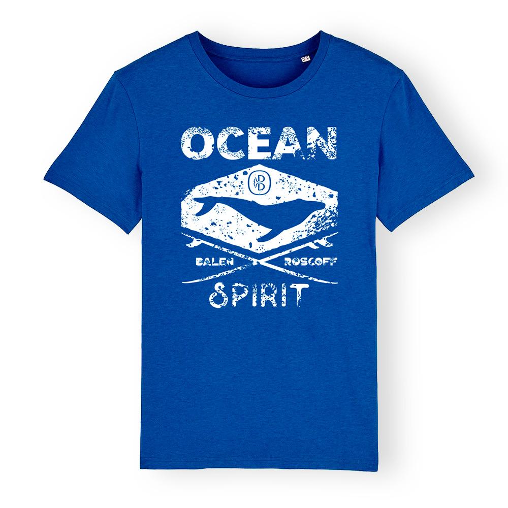 T-shirt UNISEXE Ocean spirit bleu