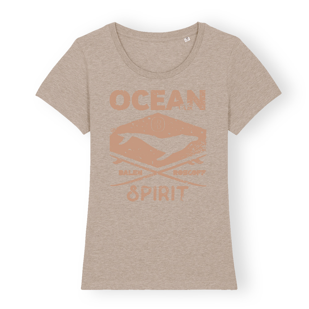 T-shirt FEMME Ocean spirit sable