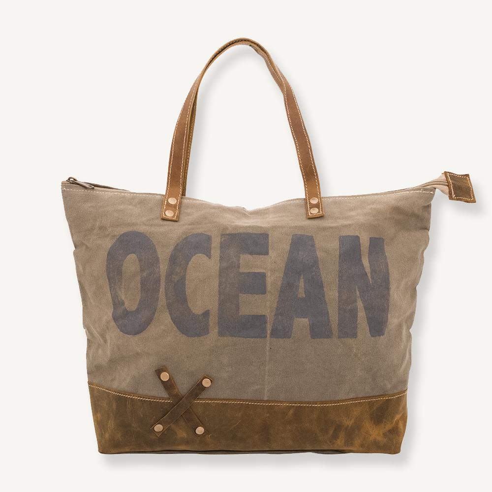 Sac de ville ocean vintage