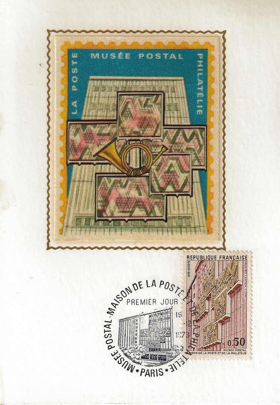 1973MUSEE POSTAL