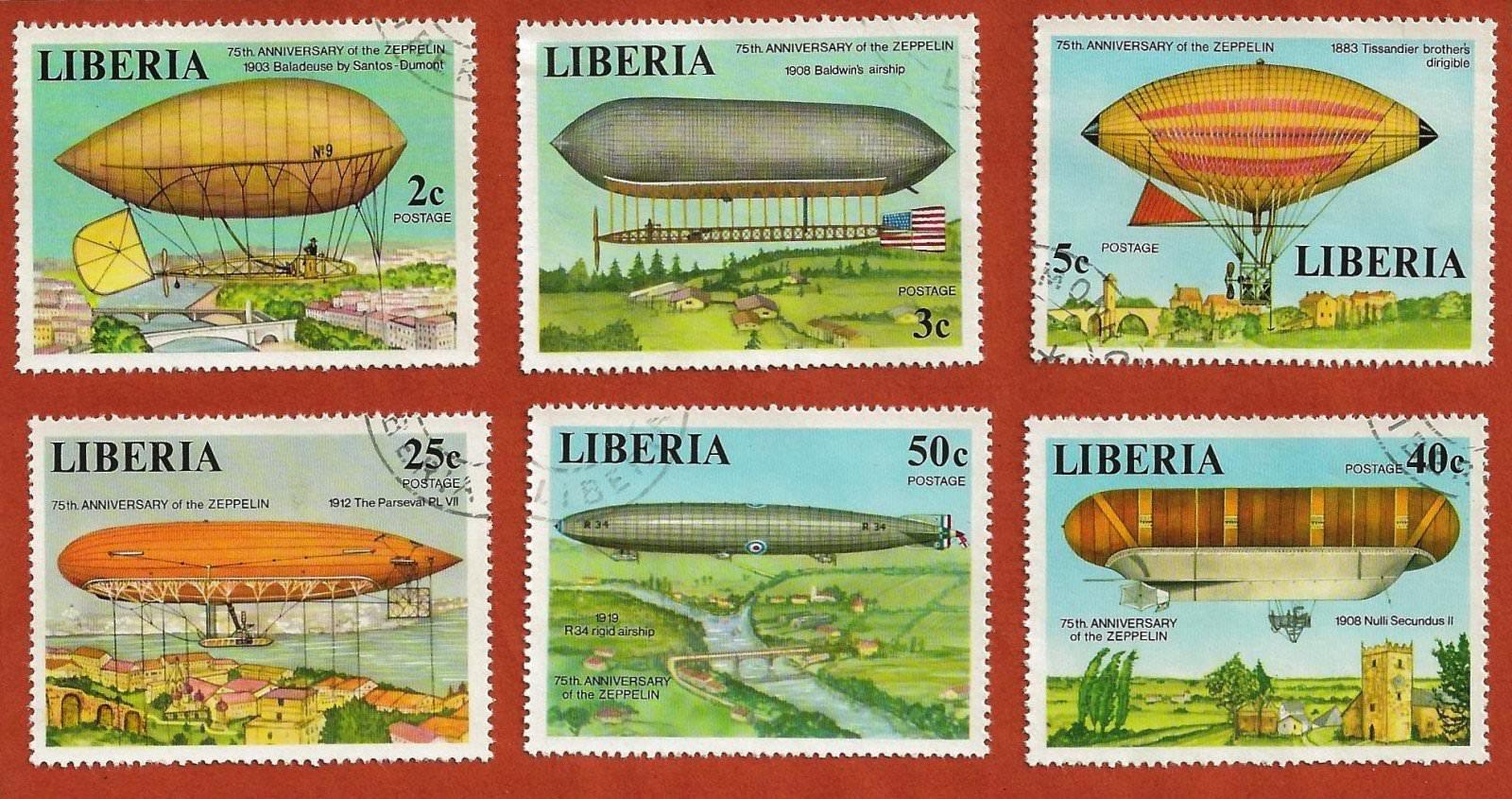Liberia dirigeables