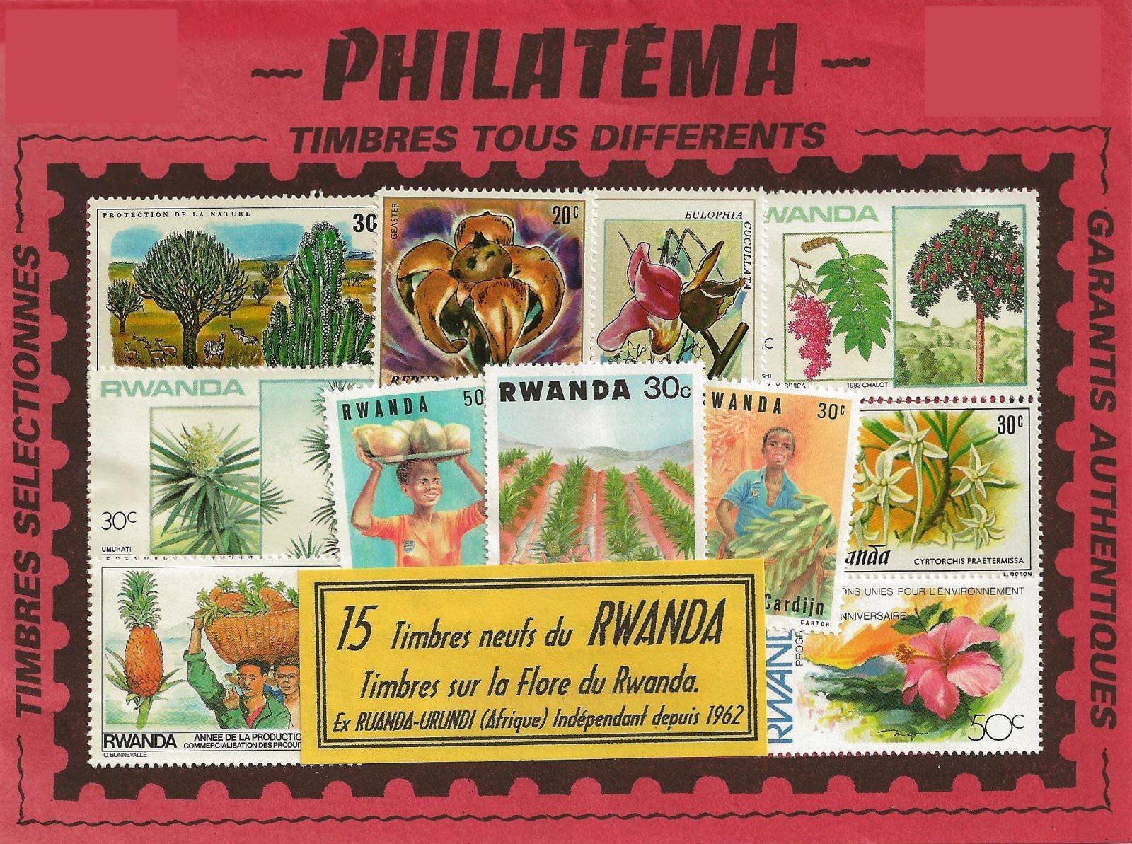 FLORE DU RWANDA