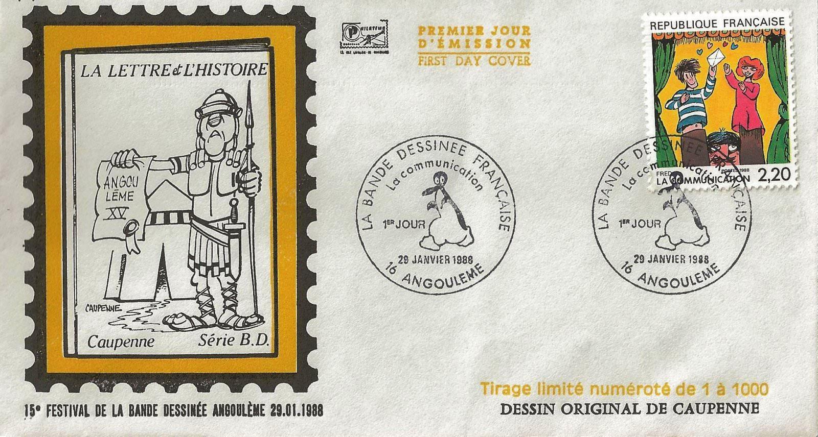 1988 15è festival BD