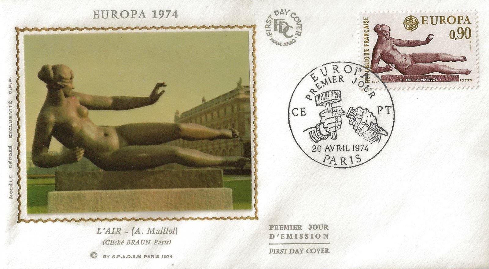 1974 EUROPA MAILLOL