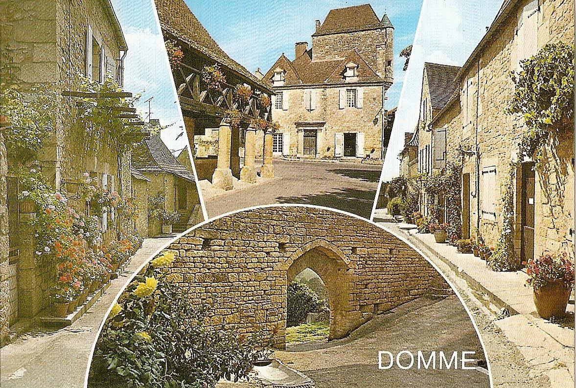 carte postale domme