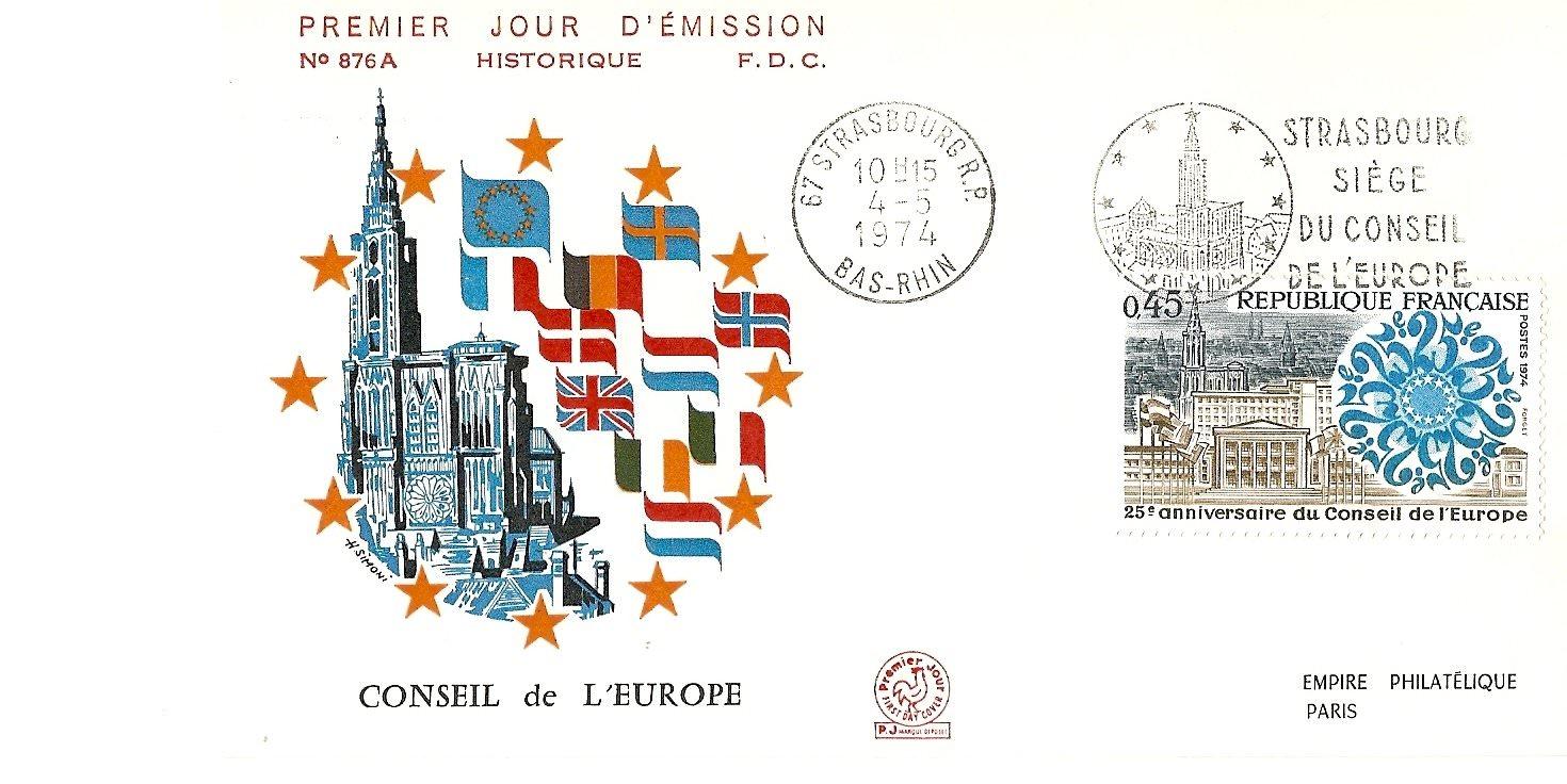 CONSEIL DE EUROPE 1974