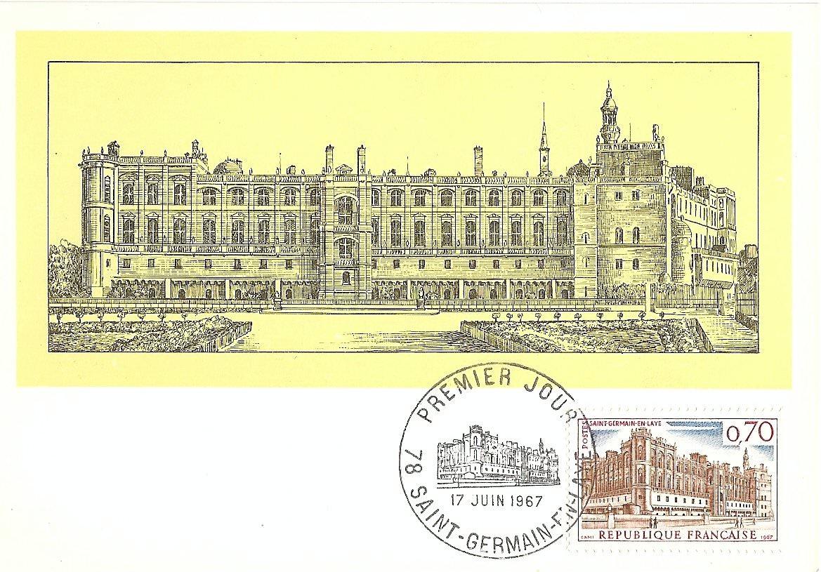 CHATEAU DE ST GERMAIN EN LAYE 1967