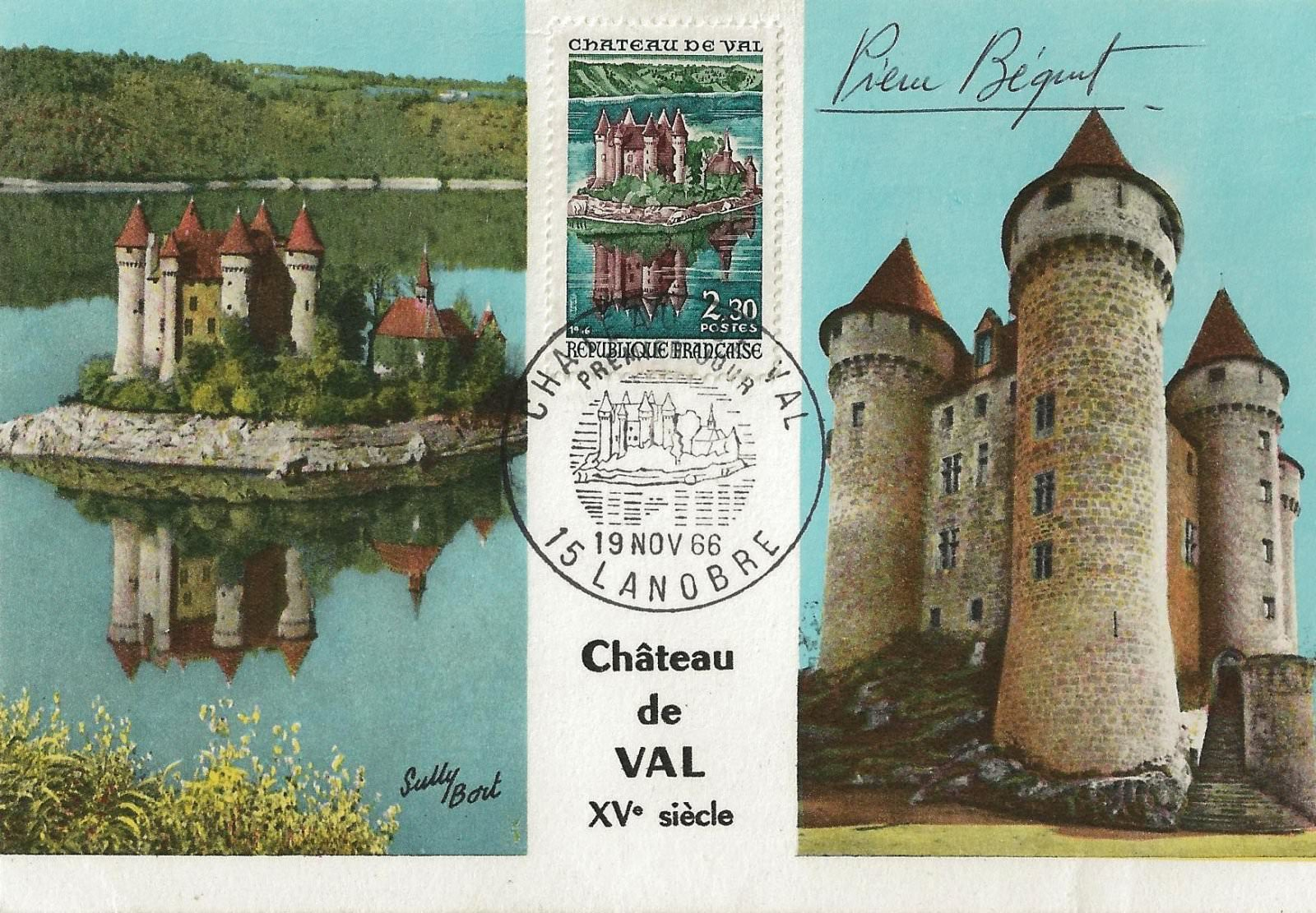 chateau de val 1966