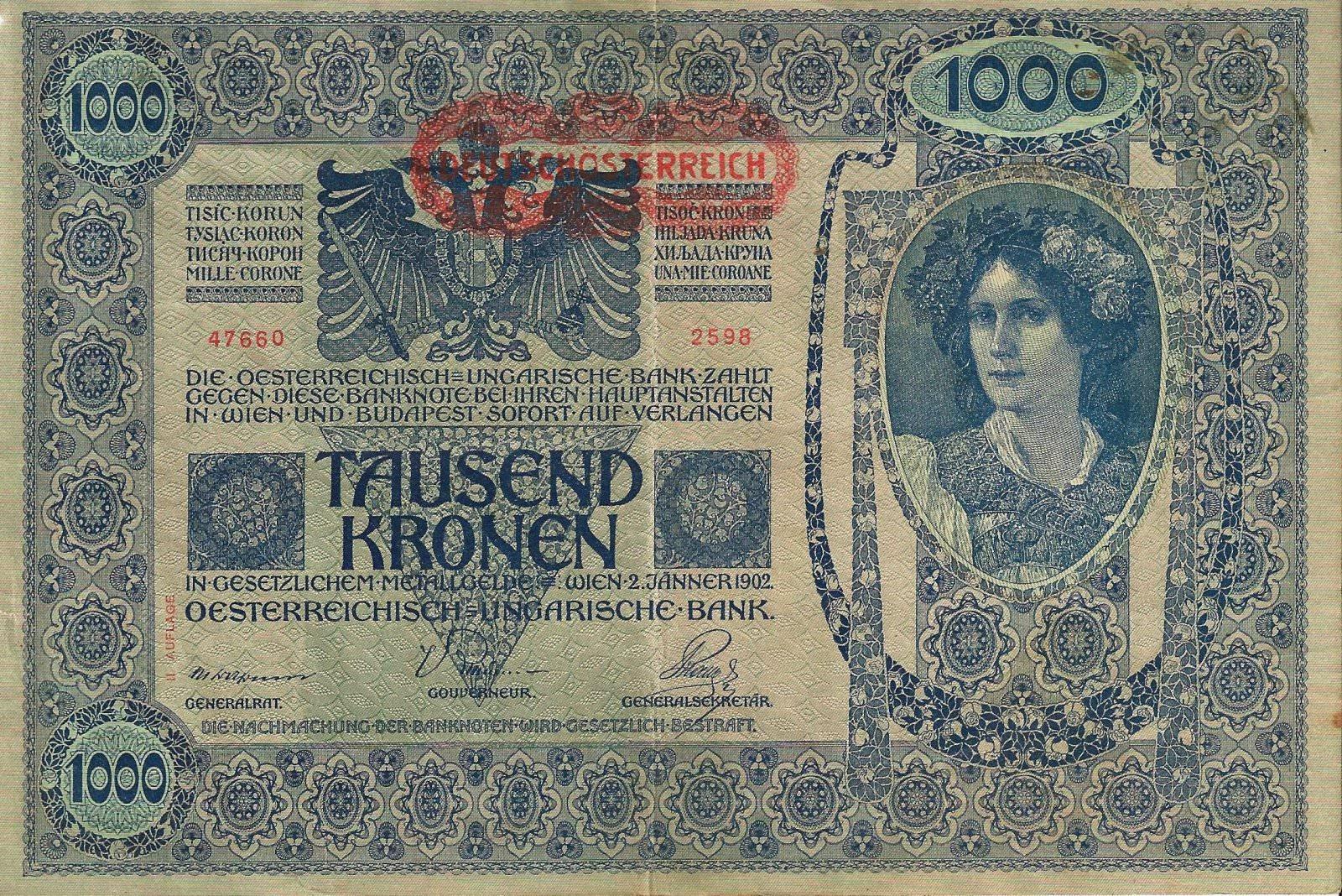 1000 kronen recto 2