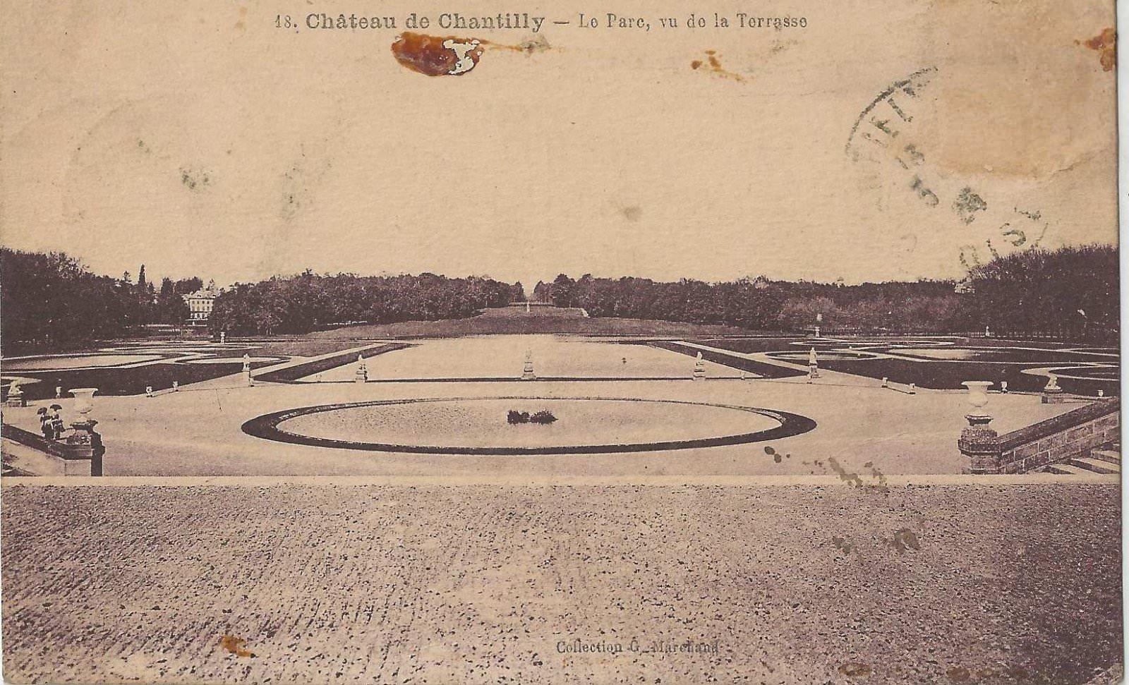 chateau de Chantilly 1926