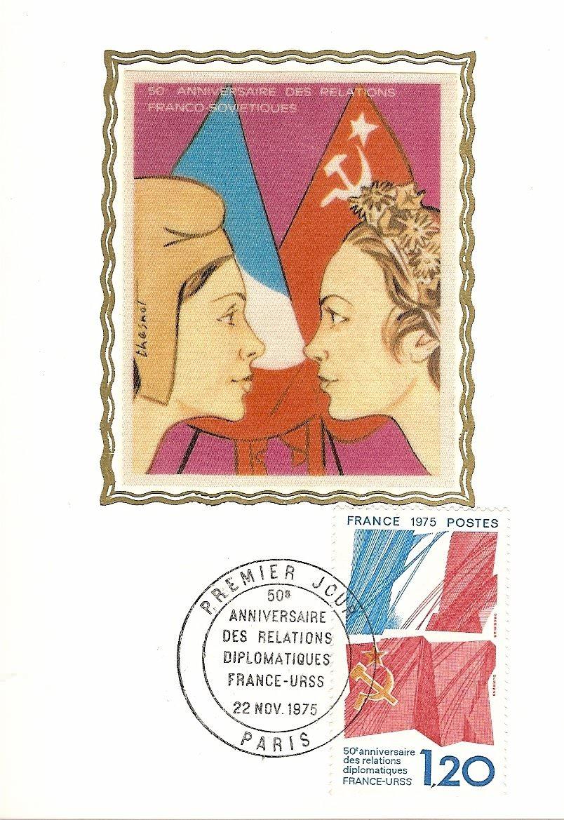 1975RELATION FRANCE URSS