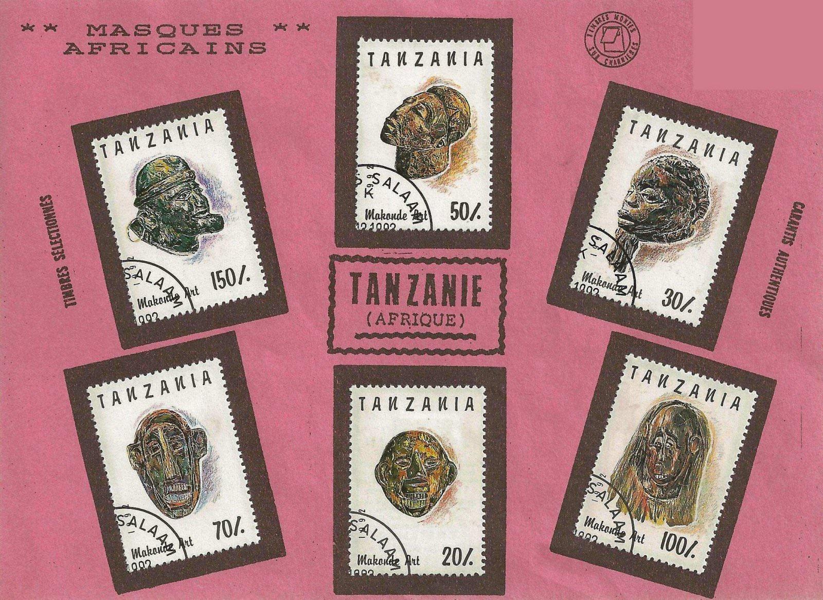 MASQUES TANZANIE