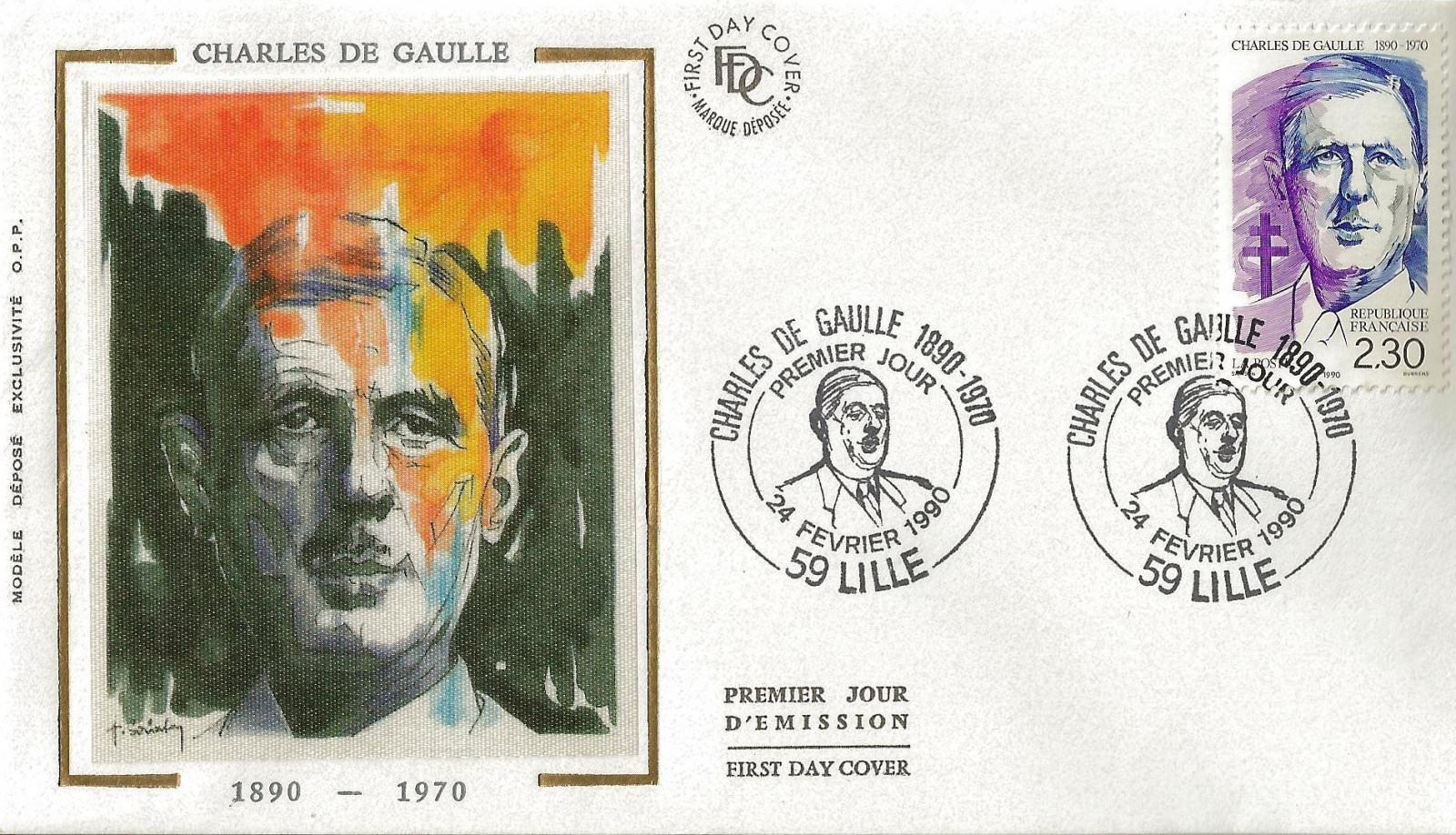CHARLES DE GAULLE 1990