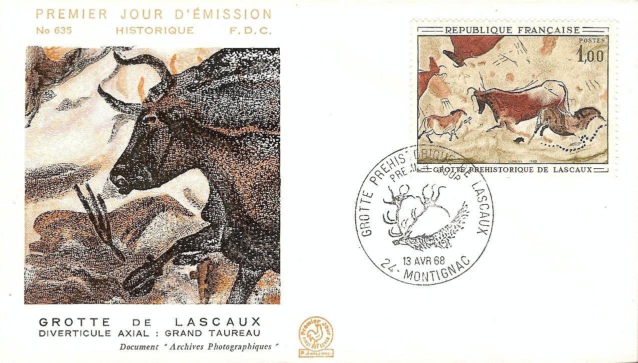 GROTTE DE LASCAUX 1968