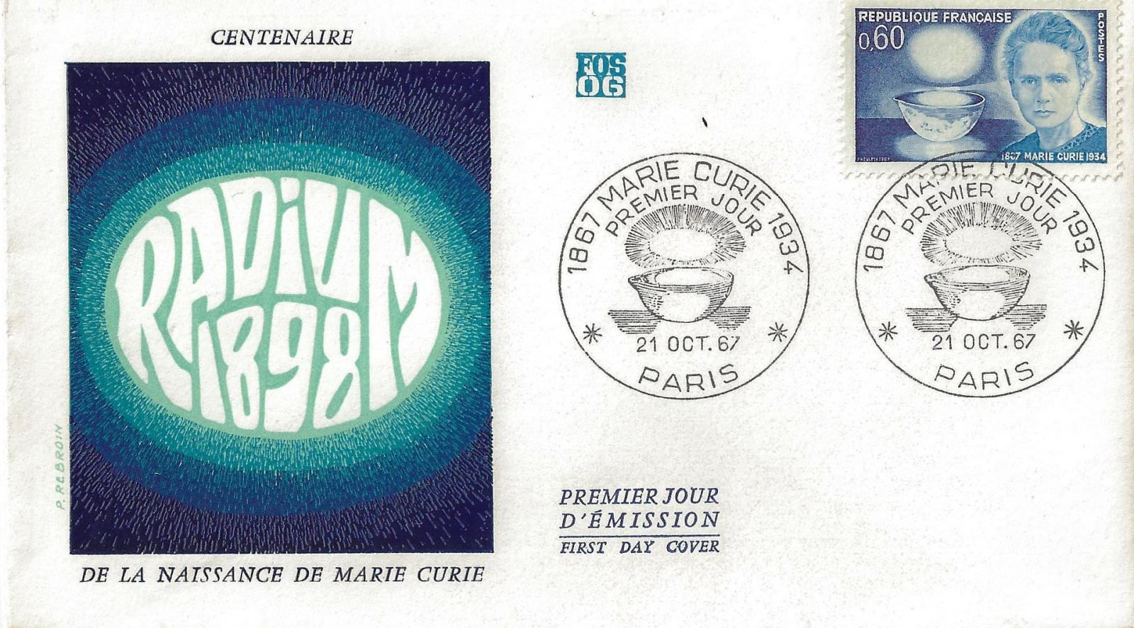 marie curie 1967