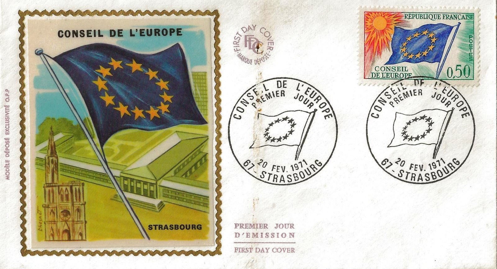 1971 conseil de europe