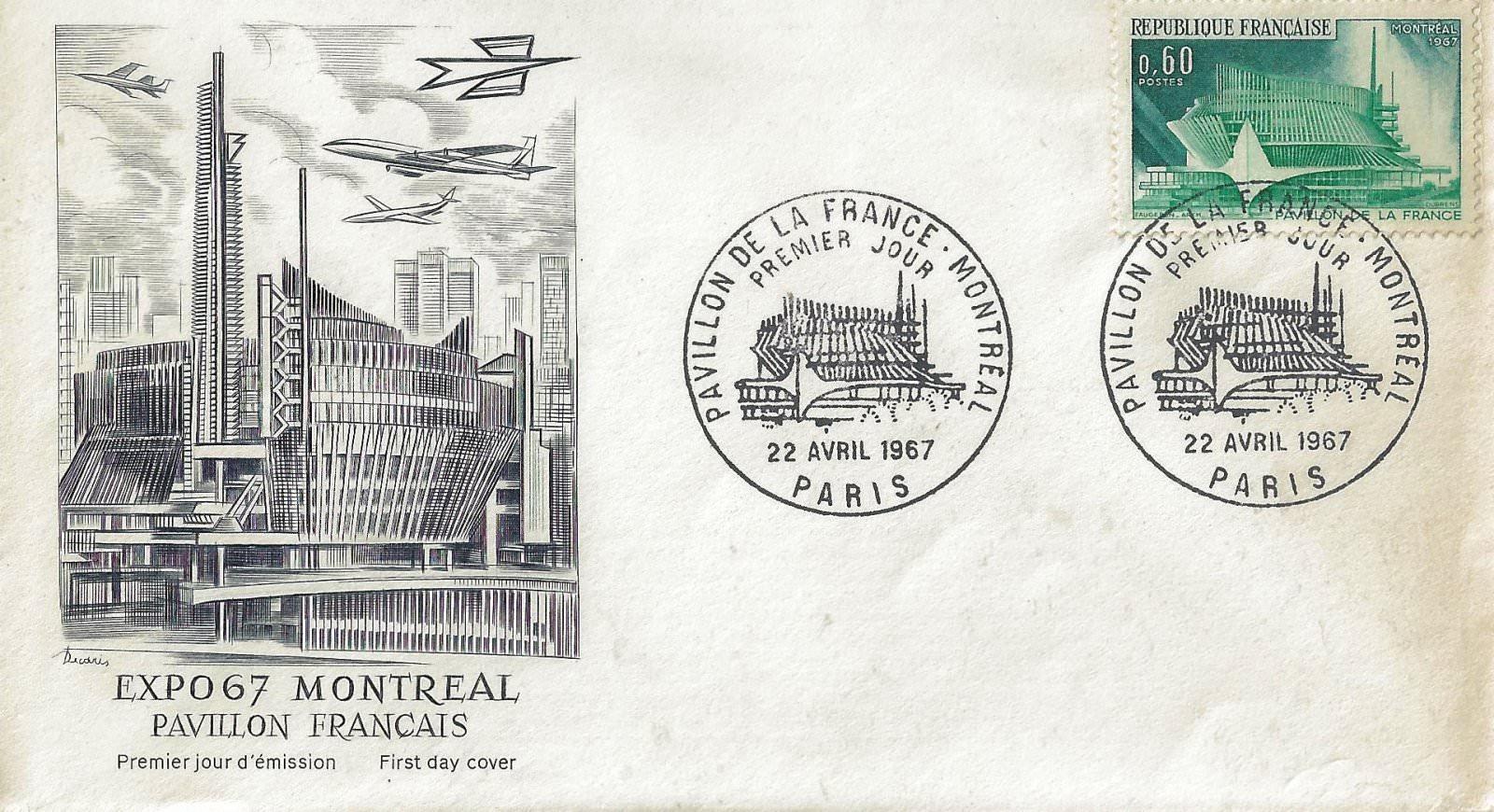 1967 pavillon de france montreal