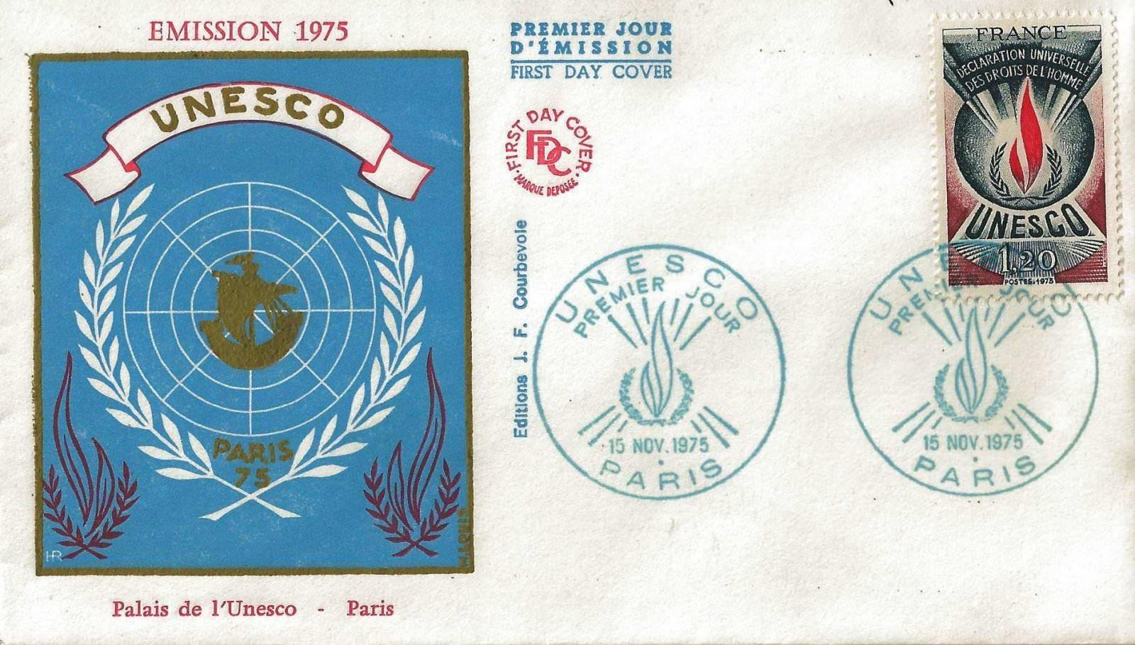 1975 UNESCO PALAIS OR