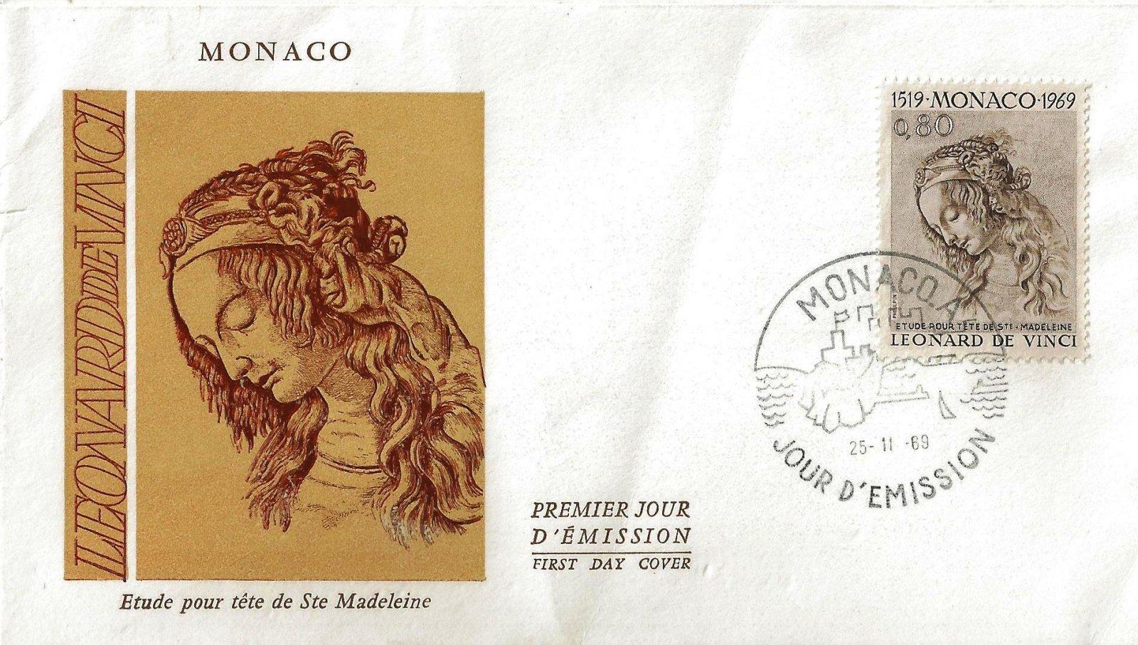 1969 DE VINCI STE MADELEINE MONACO