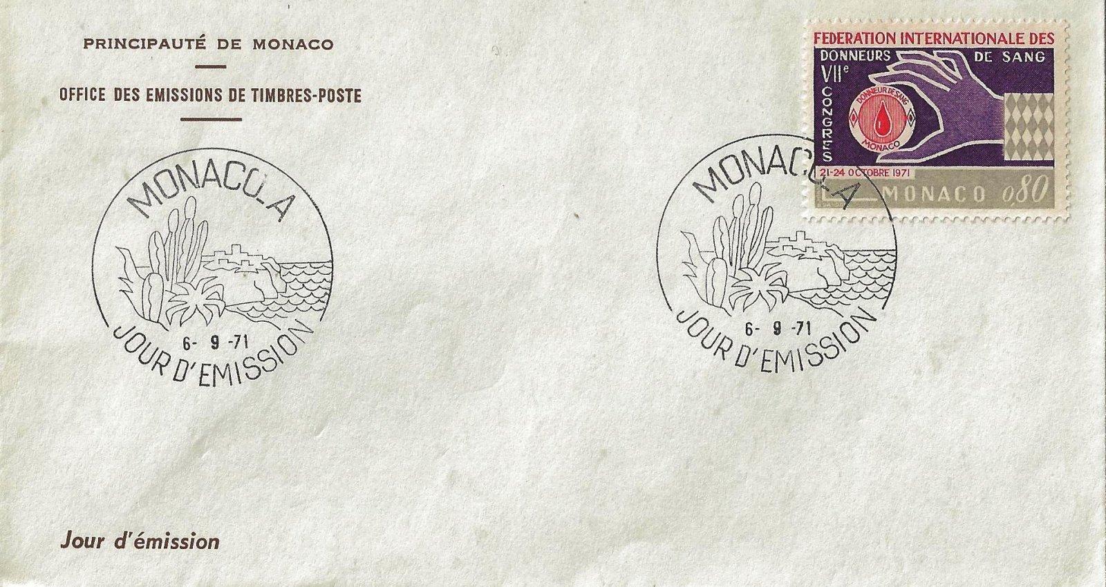 1971 DONNEURS SANG MONACO