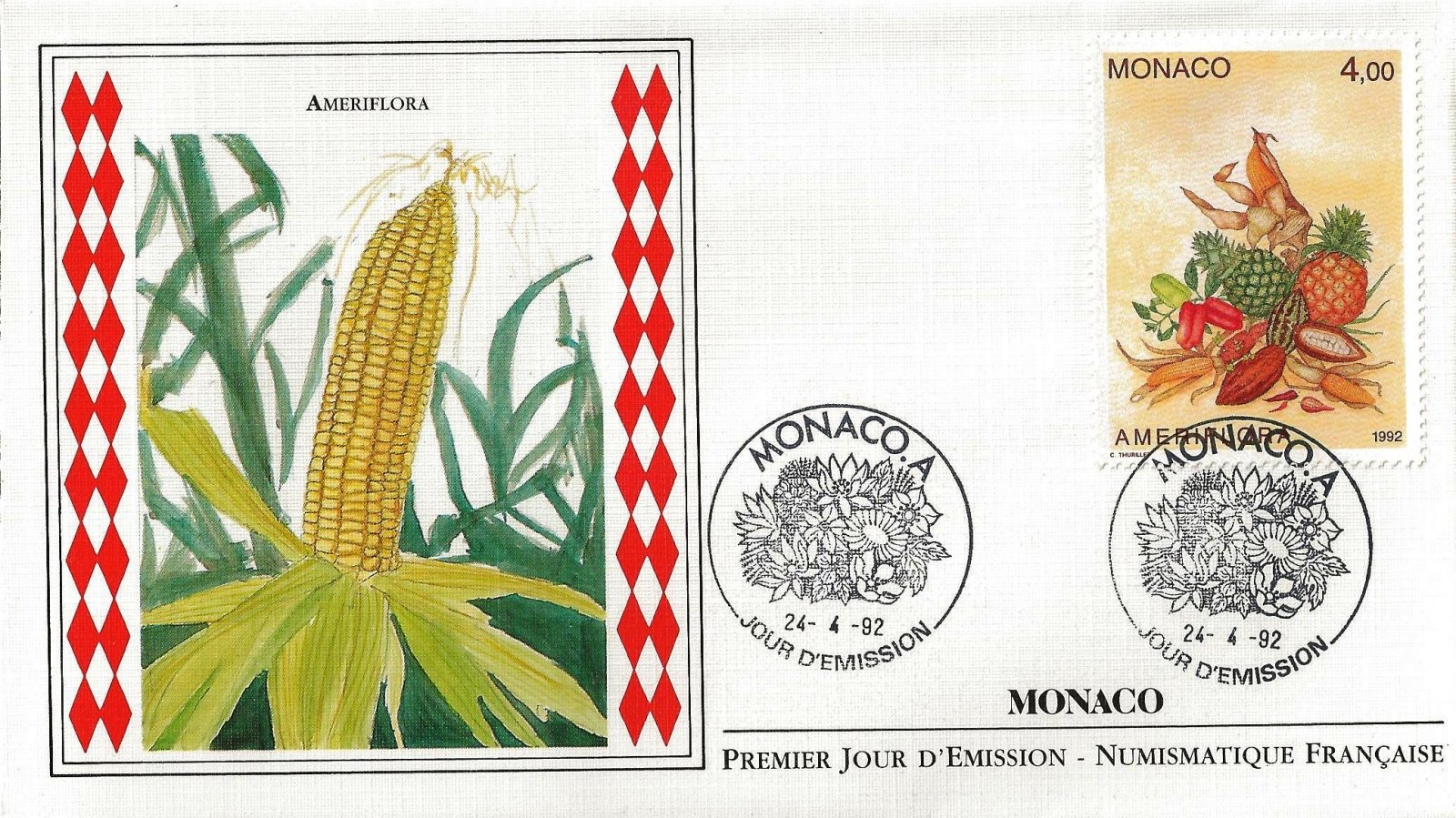 1992 AMERIFLORA MONACO