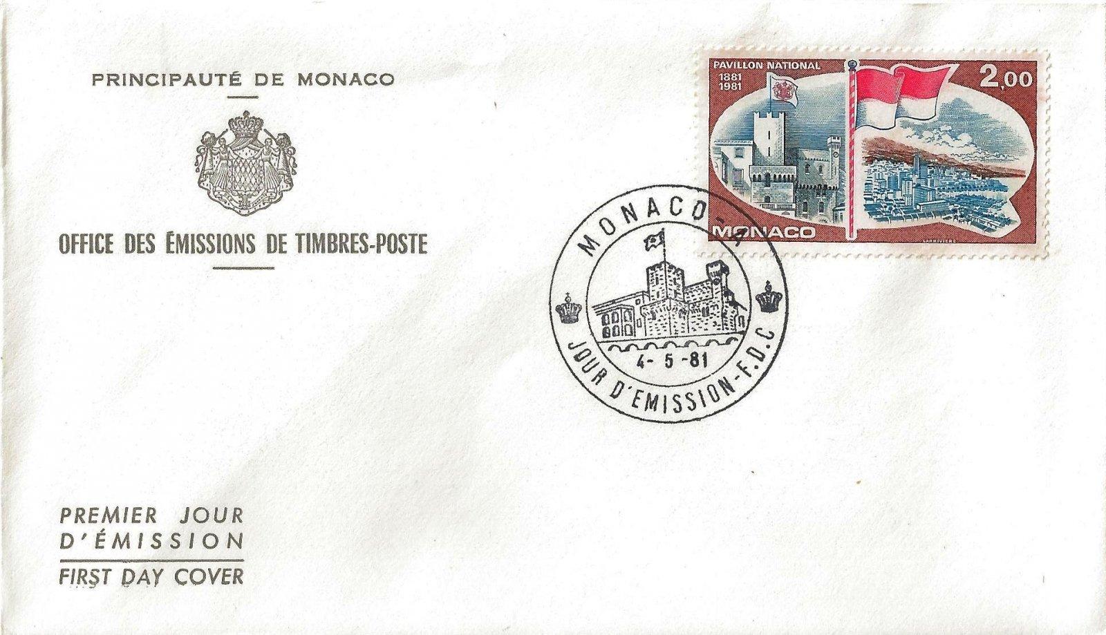 1981 PAVILLON NATIONAL MONACO