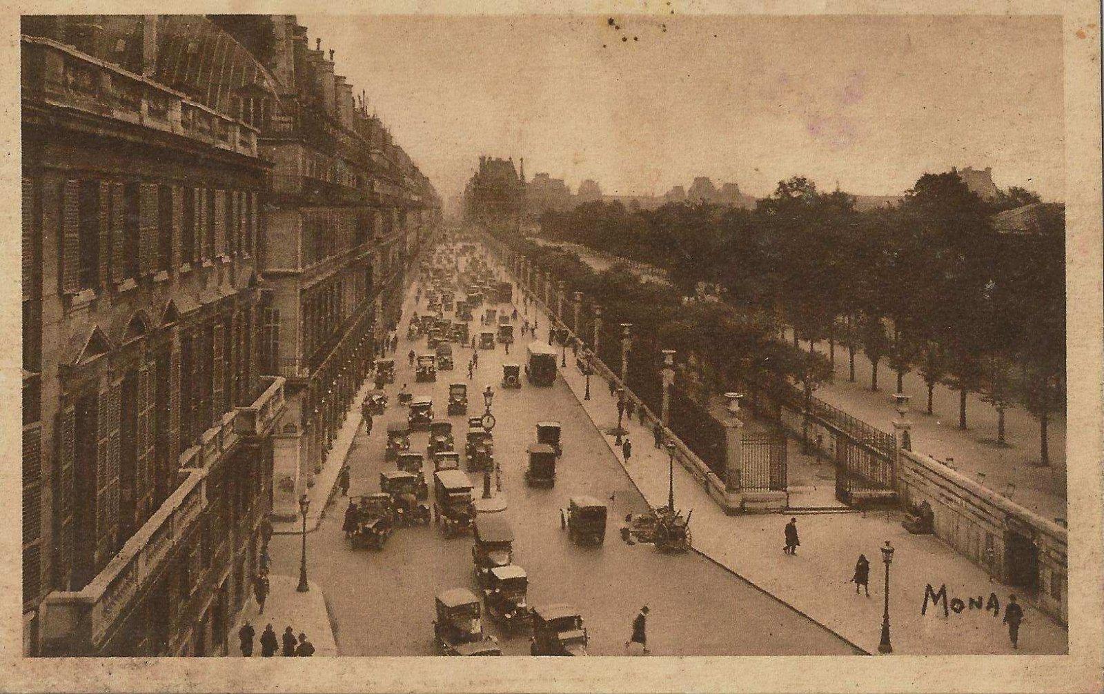 paris rue de tivoli