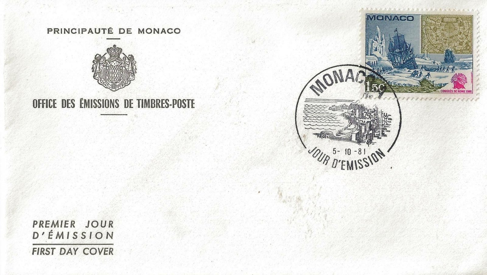 1981 CONGRES DE ROME MONACO