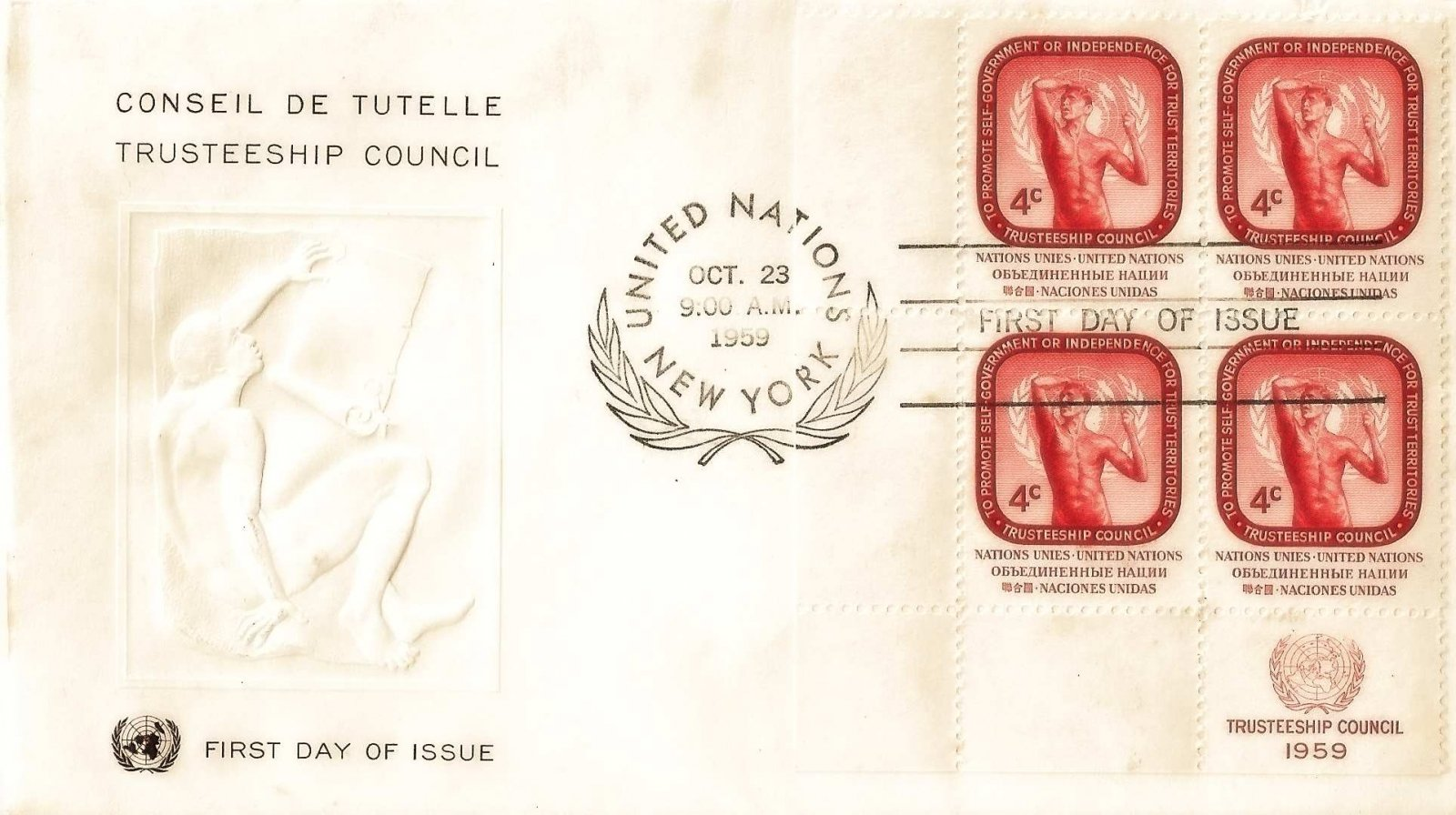 1959 nations unies conseil tutelle bloc 4c