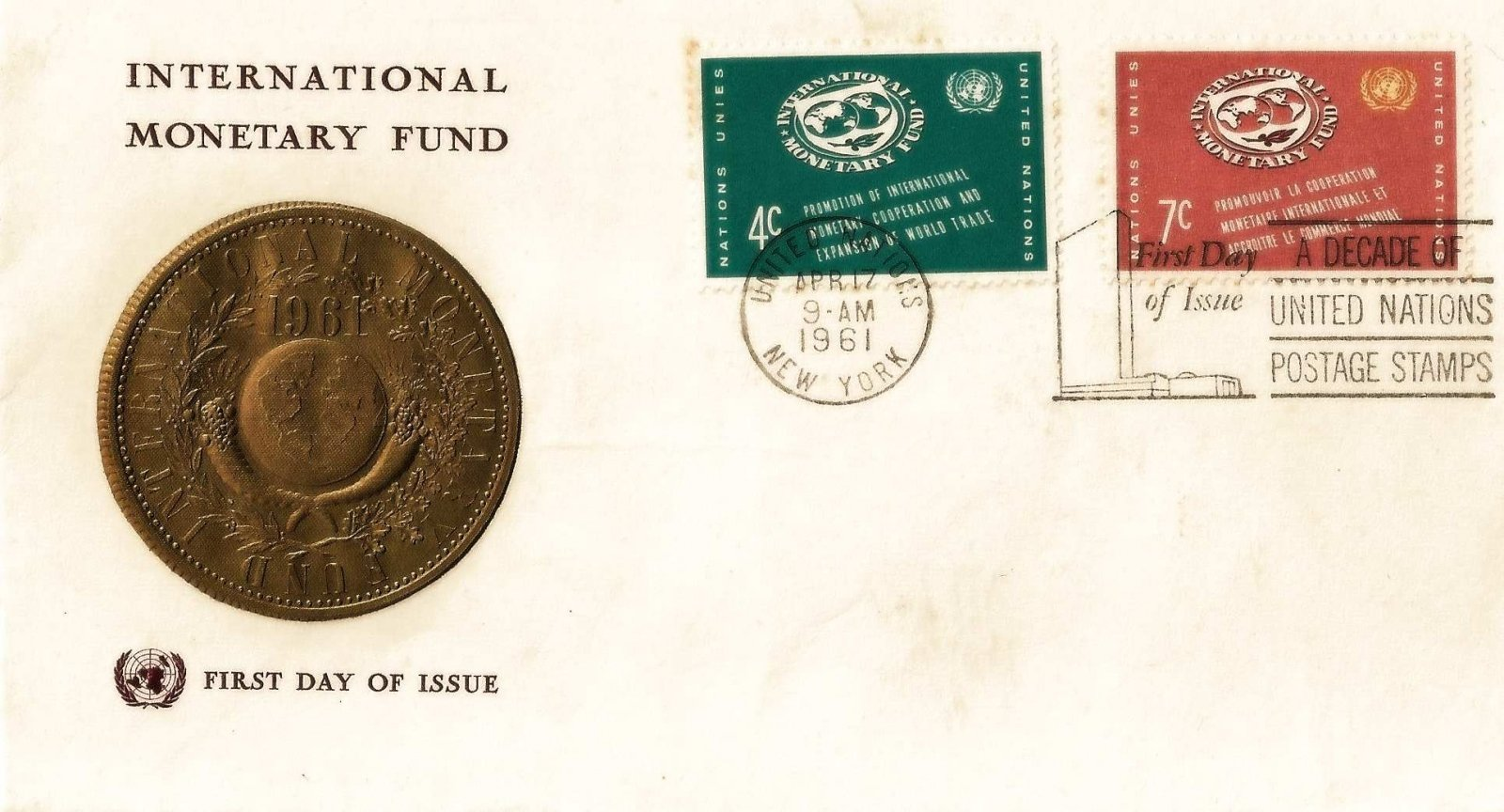 1961 nations unies cooperation monnetaire 2t