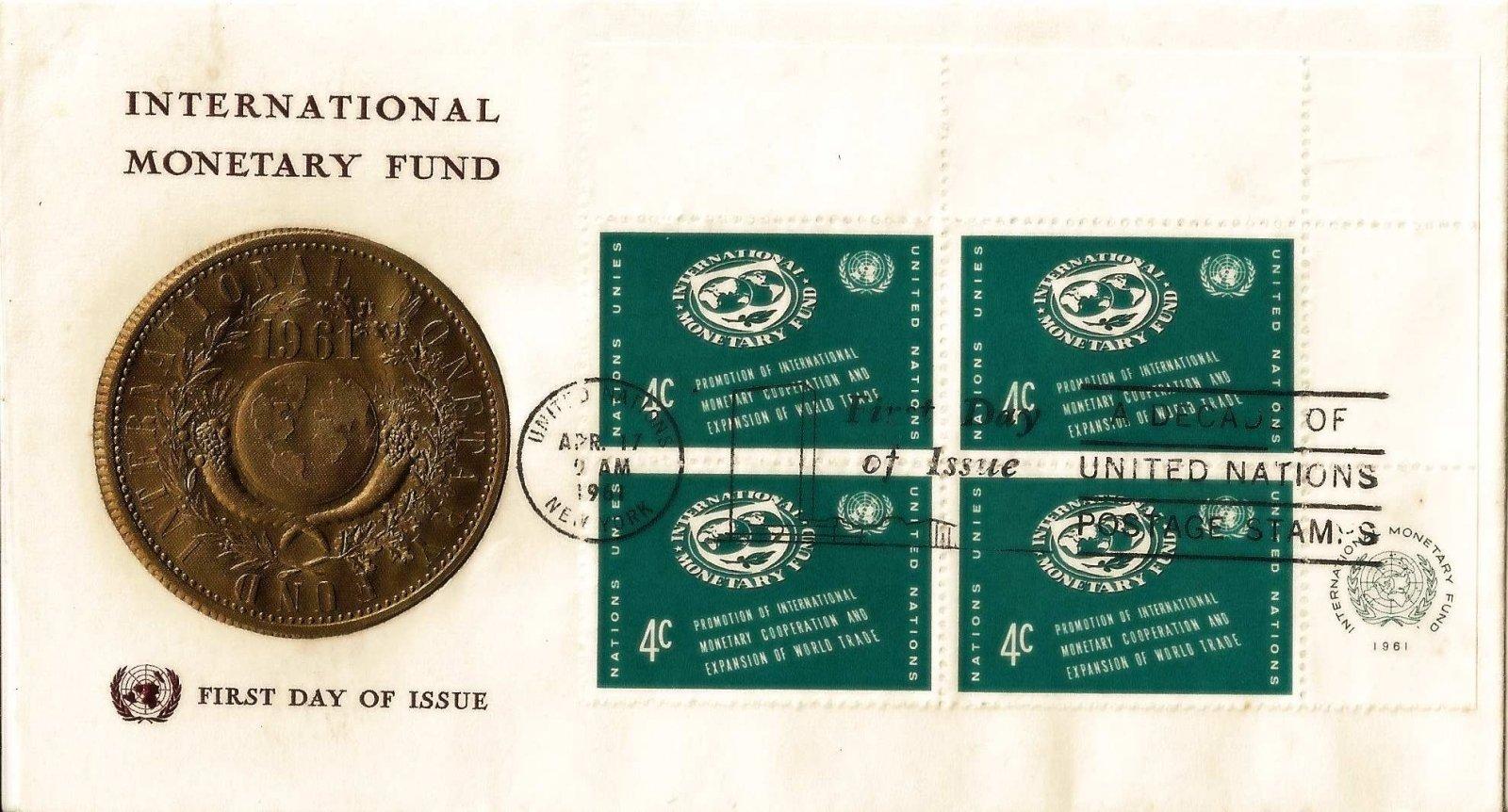 1961 nations unies cooperation monnetaire bloc 4c