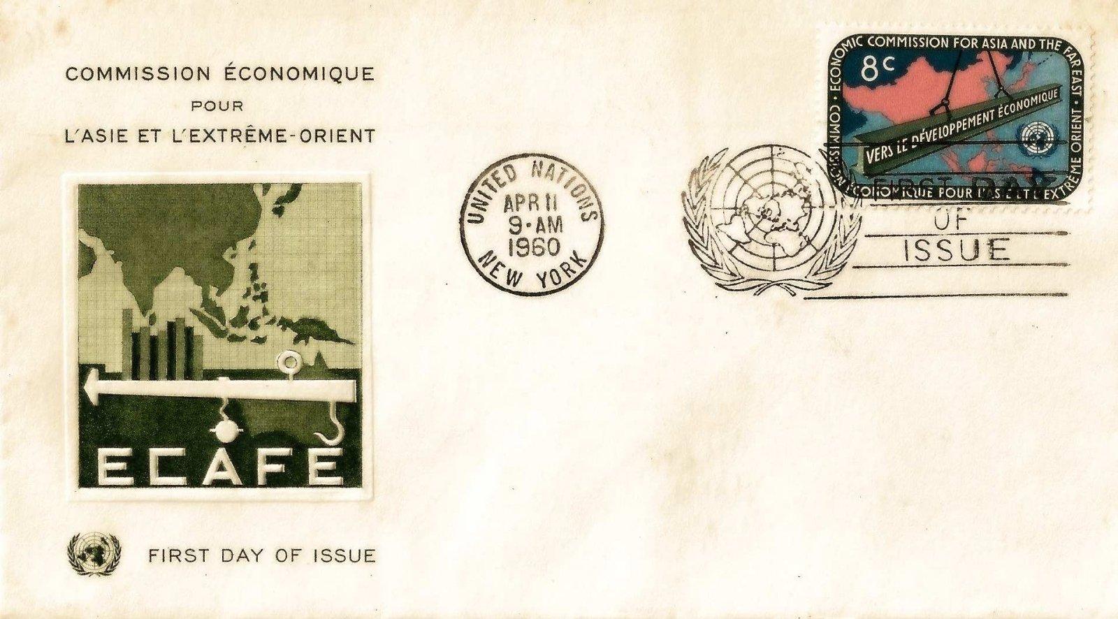 1960 nations unies asie 8c