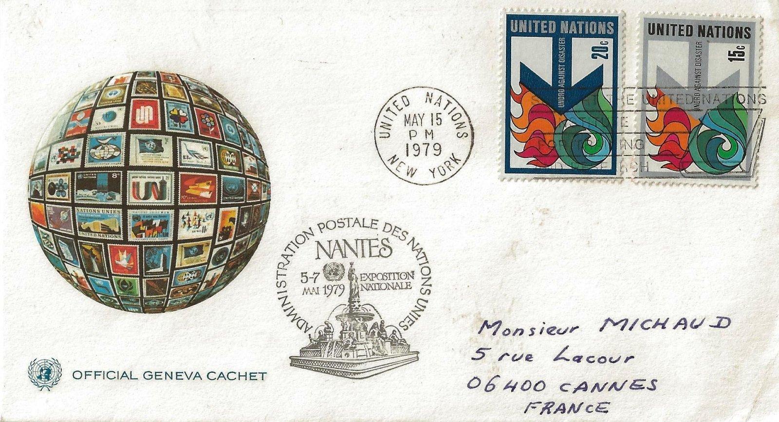 1979 ADM POSTALE NATIONS UNIES